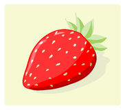 Strawberry Icon Stock Photography