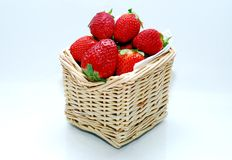 Strawberry In The Baskets Royalty Free Stock Photo