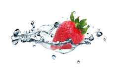 Free Strawberry In Water Stock Photo - 39764620
