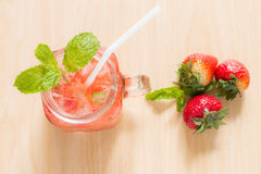 Strawberry infused Stock Photography