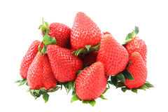 Strawberry isolated Stock Photo