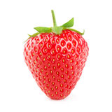 Strawberry Isolated On White Stock Images