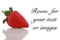 Strawberry isolated on white Royalty Free Stock Image