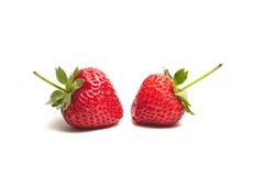 Strawberry isolated on white background Stock Image
