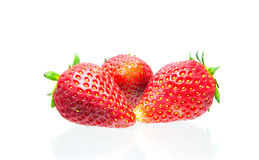 Strawberry Isolated on  white background. Strawberry Isolated on a white background Royalty Free Stock Image