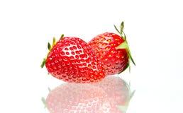 Strawberry. Isolated on white background Stock Image