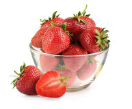 Strawberry isolated on a white Stock Photography