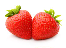 Strawberry isolated Stock Images