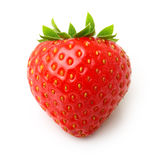 Strawberry isolated Stock Photography