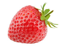 Strawberry isolated on white background Stock Photography