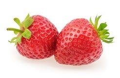Strawberry isolated on white background.  Royalty Free Stock Image