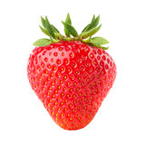 Strawberry isolated on the white background.  Royalty Free Stock Image