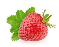 Strawberry isolated on white background.  Royalty Free Stock Photography