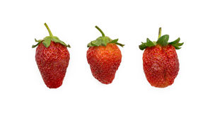 Strawberry. Isolated on a white background Royalty Free Stock Image
