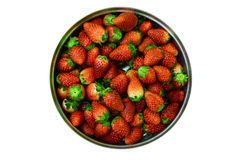 Strawberry. Isolated on white background Royalty Free Stock Images