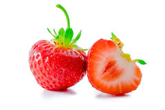 Strawberry isolated on white. Stock Images