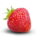Strawberry isolated on white Royalty Free Stock Photography