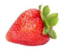 Strawberry isolated on white background. With clipping path Stock Images