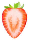 Strawberry isolated on white background. With clipping path Stock Photography
