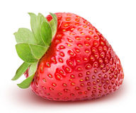 Strawberry isolated on white background. With clipping path Royalty Free Stock Photography