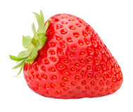 Strawberry isolated on white background. With clipping path Royalty Free Stock Images