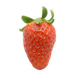 Strawberry isolated on white background. Concept Royalty Free Stock Image
