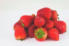 Strawberry isolated on white background. Fresh Strawberry isolated on white background Royalty Free Stock Photos