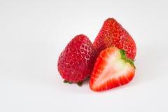 Strawberry isolated on white background. Fresh Strawberry isolated on white background Stock Images
