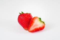 Strawberry isolated on white background. Fresh Strawberry isolated on white background Royalty Free Stock Images