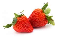Strawberry isolated on white background. Fresh berry. Strawberry isolated on white background Fresh berry Stock Photo