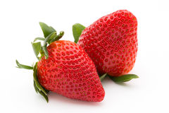 Strawberry isolated on white background. Fresh berry. Strawberry isolated on white background Fresh berry Royalty Free Stock Image