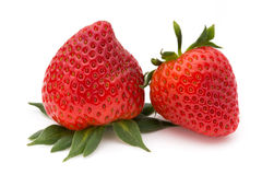 Strawberry isolated on white background. Fresh berry. Strawberry isolated on white background Fresh berry Stock Photos