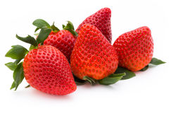 Strawberry isolated on white background. Fresh berry.  Royalty Free Stock Photo
