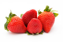 Strawberry isolated on white background. Fresh berry. Strawberry isolated on white background. Fresh berry Stock Photos