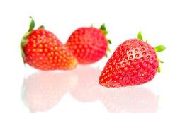 Strawberry Isolated on  white background. Strawberry fruits, isolated on white background Royalty Free Stock Image