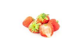 Strawberry isolated on white background. Royalty Free Stock Images