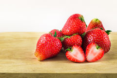 Strawberry isolated on white background. Royalty Free Stock Images