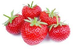 Strawberry isolated on white Stock Image