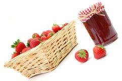 Strawberry jam Royalty Free Stock Photography