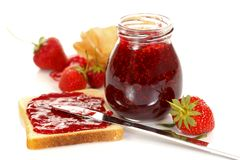 Free Strawberry Jam Stock Image - 20104601