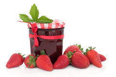 Strawberry Jam Stock Photo