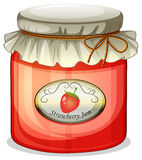 A strawberry jam Stock Photos