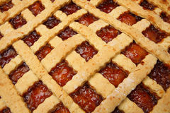 Strawberry Jam Tart royalty free stock photos