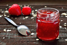 Strawberry jam Stock Image