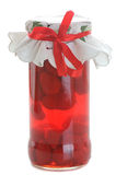 Strawberry jar Royalty Free Stock Photos