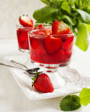 Strawberry jelly Royalty Free Stock Photography