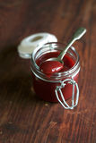 Strawberry jelly lam or marmalade Royalty Free Stock Images