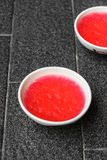 Strawberry jelly Stock Photo