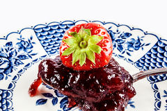 Strawberry jelly Royalty Free Stock Image