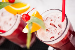 Strawberry juice Royalty Free Stock Photography
